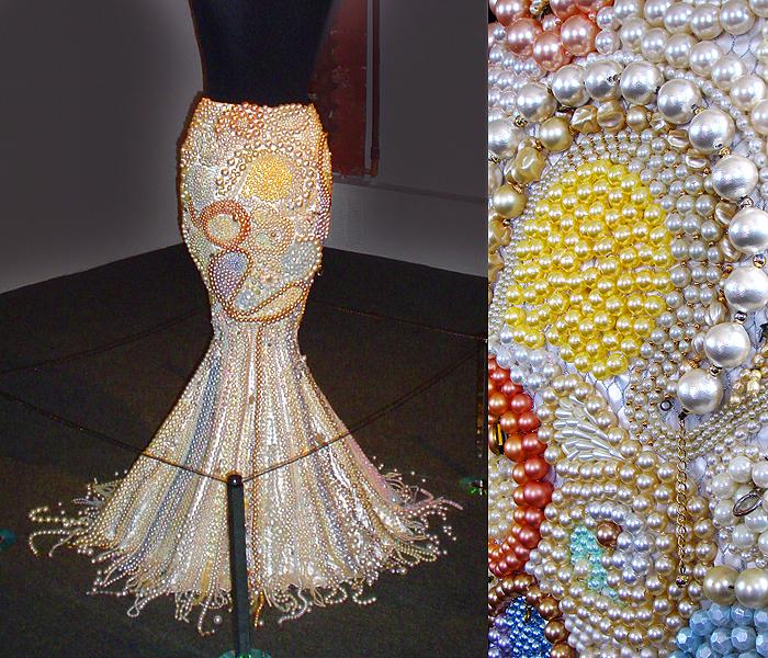 Платье расшитое бисером своими руками 20